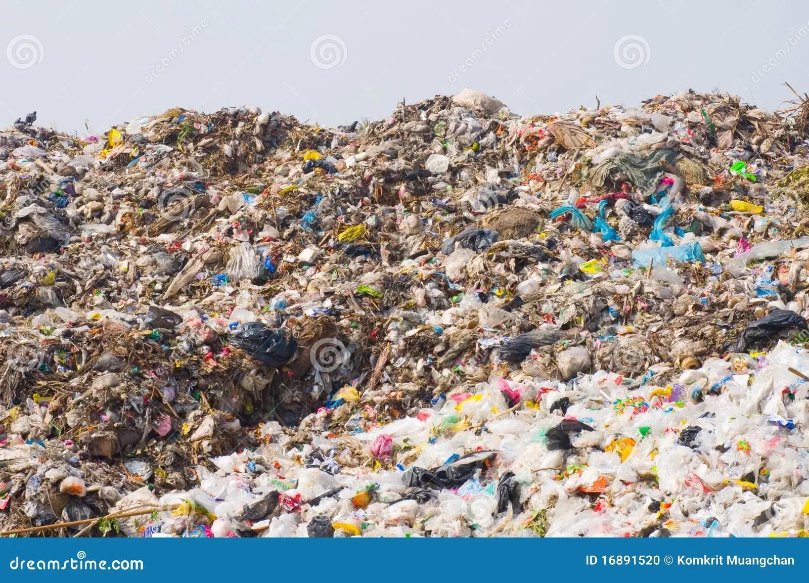 垃圾堆 庫存照片 - 圖片: 16891520