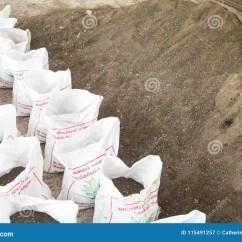 Kitchen Composter Mobile Food For Sale 堆肥土壤和在袋子 用有机废料垃圾做的有机植物肥料 种植园的图库摄影片