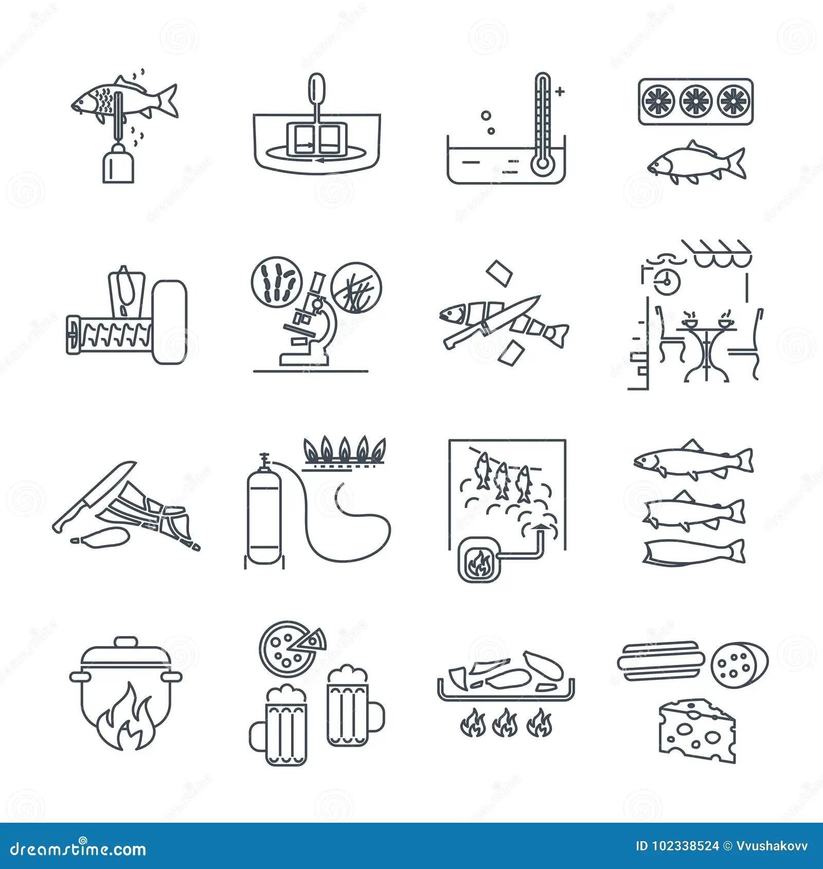 kitchen pub sets faucets repair 套稀薄的线象餐馆 咖啡馆 厨房 酒吧生产向量例证 插画包括有用餐 酒吧生产