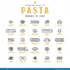 Kitchen Aid Pasta Outdoor Accessories 套面团象品种向量例证 插画包括有现有量 乱画 意大利面食 有机 套面团象品种