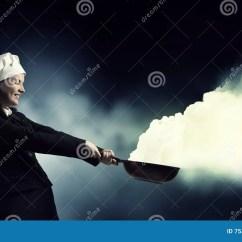 Kitchen Magician Plans 她是魔术师作为厨师混合画法库存图片 图片包括有主妇 魔术 厨房 商业 她是魔术师作为厨师混合画法