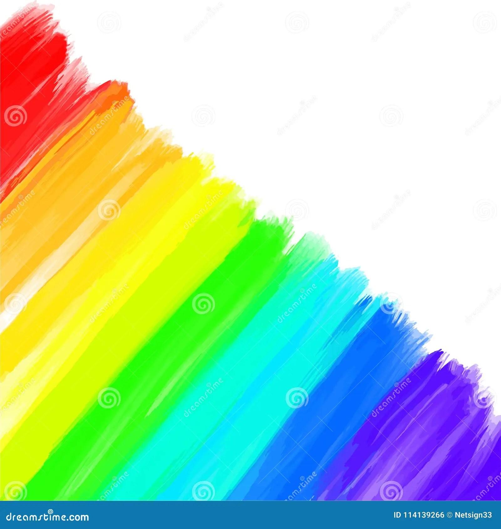 好的彩虹色的背景沖程集合 向量例證. 插畫 包括有 例證, 顏色, 墨水, 藝術性, 代理, 裝飾, 五顏六色 - 114139266