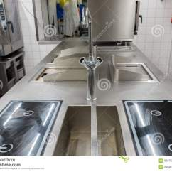 Kitchen Equipment Remodels 工业厨房设备的看法库存照片 图片包括有行业 机柜 金属 家具 方便 工业厨房设备的看法