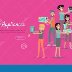 Home And Kitchen Stores Diy Cabinet Doors 工具背景例证厨房白色套商店销售的人向量例证 插画包括有查出 货物 工具背景例证厨房白色套商店销售的人平的设计传染媒介拿着与销售贴纸的男人和妇女愉快的字符不同的物品家庭技术 电子设备 家庭购物