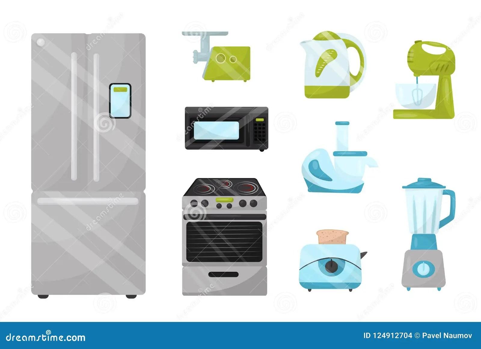 home and kitchen stores outdoor table 平的传染媒介套厨房电子装置家庭项目给的土产货物商店做广告海报元素向量 平的传染媒介套厨房电子装置家庭项目给的土产货物商店做