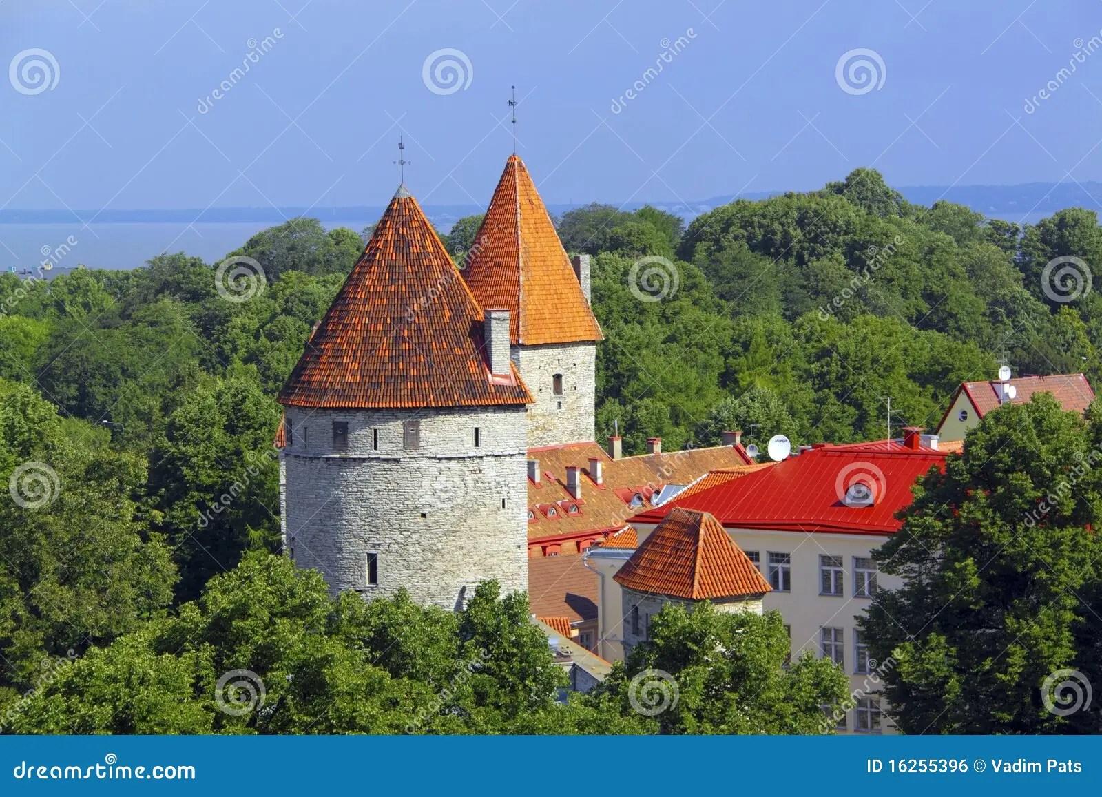 愛沙尼亞塔林塔 免版稅庫存圖片 - 圖片: 16255396