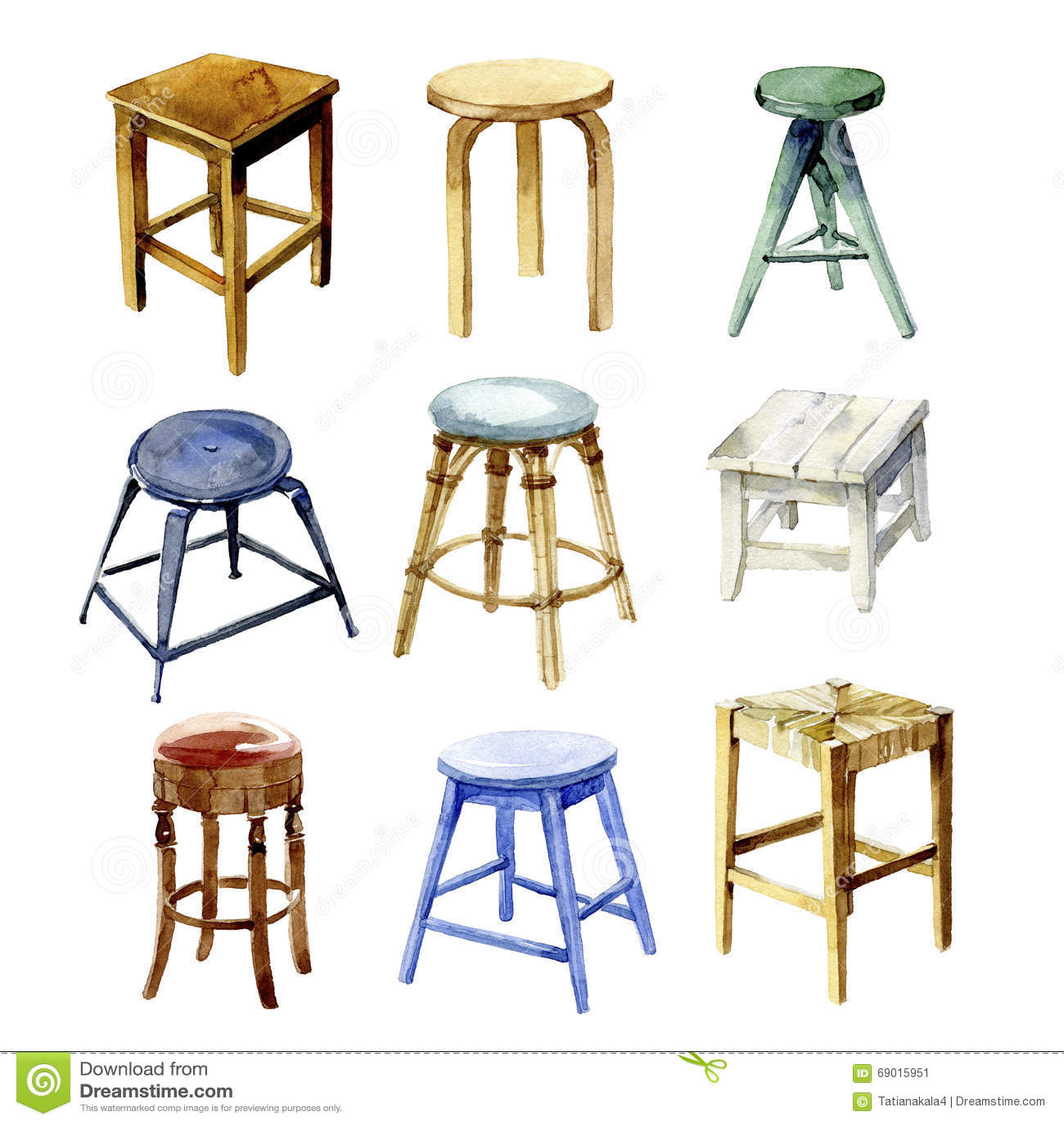 kitchen stools with backs bar for island 拉长的家具现有量例证集合白色厨房露背的凳子库存例证 插画包括有家具 厨房露背的凳子额嘴装饰飞行例证图象其纸部分燕子水彩