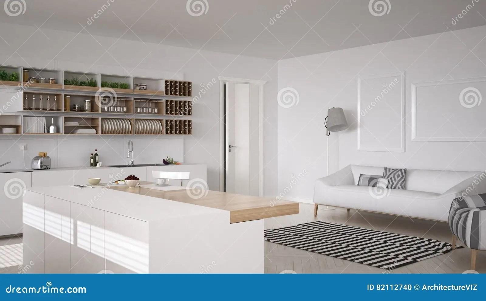 framed prints for kitchens ceramic tile kitchen countertops 斯堪的纳维亚白色厨房 minimalistic室内设计库存照片 图片包括有干净 minimalistic室内设计