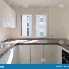 Kitchen Corner Sinks Round Tables 新的现代厨房角落细节库存图片 图片包括有国内 关闭 当代 提取器 新的现代厨房角落细节