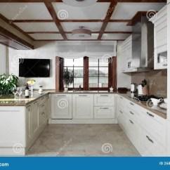 European Kitchens Replace Kitchen Cabinet Doors 明亮的全新的欧洲厨房库存图片 图片包括有家庭 内部 拱道 当代 机柜 明亮的全新的欧洲厨房