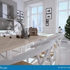 Kitchen Lanterns Aid 有圣诞节装饰的北欧厨房3d翻译库存图片 图片包括有设计 灯笼 魔术 3d翻译有圣诞节装饰的北欧厨房