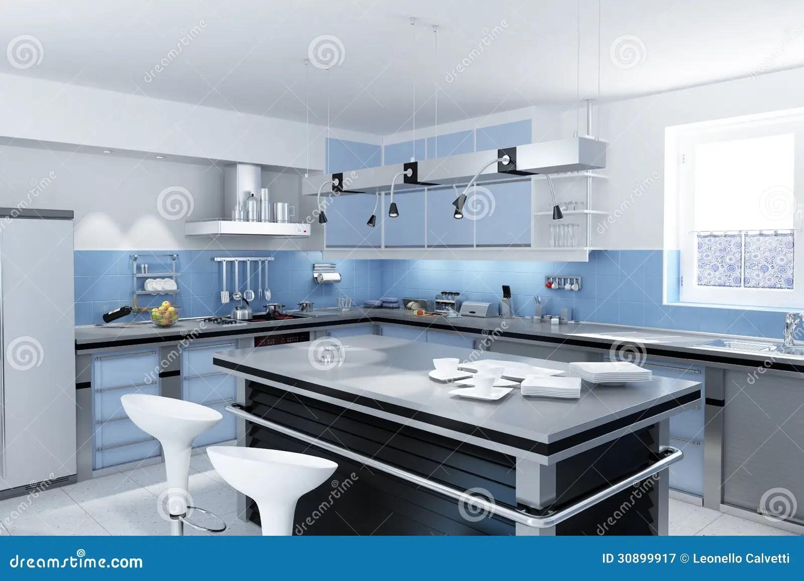grey kitchen island with sink and dishwasher 有小岛的现代厨房 库存例证 插画包括有刀子 灌肠器 灰色 厨房 自