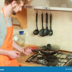 Kitchen Fryer Appliance Suite 有油煎的炸锅人在厨房里库存照片 图片包括有油煎 特写镜头 平底锅 有油煎的炸锅人在厨房里