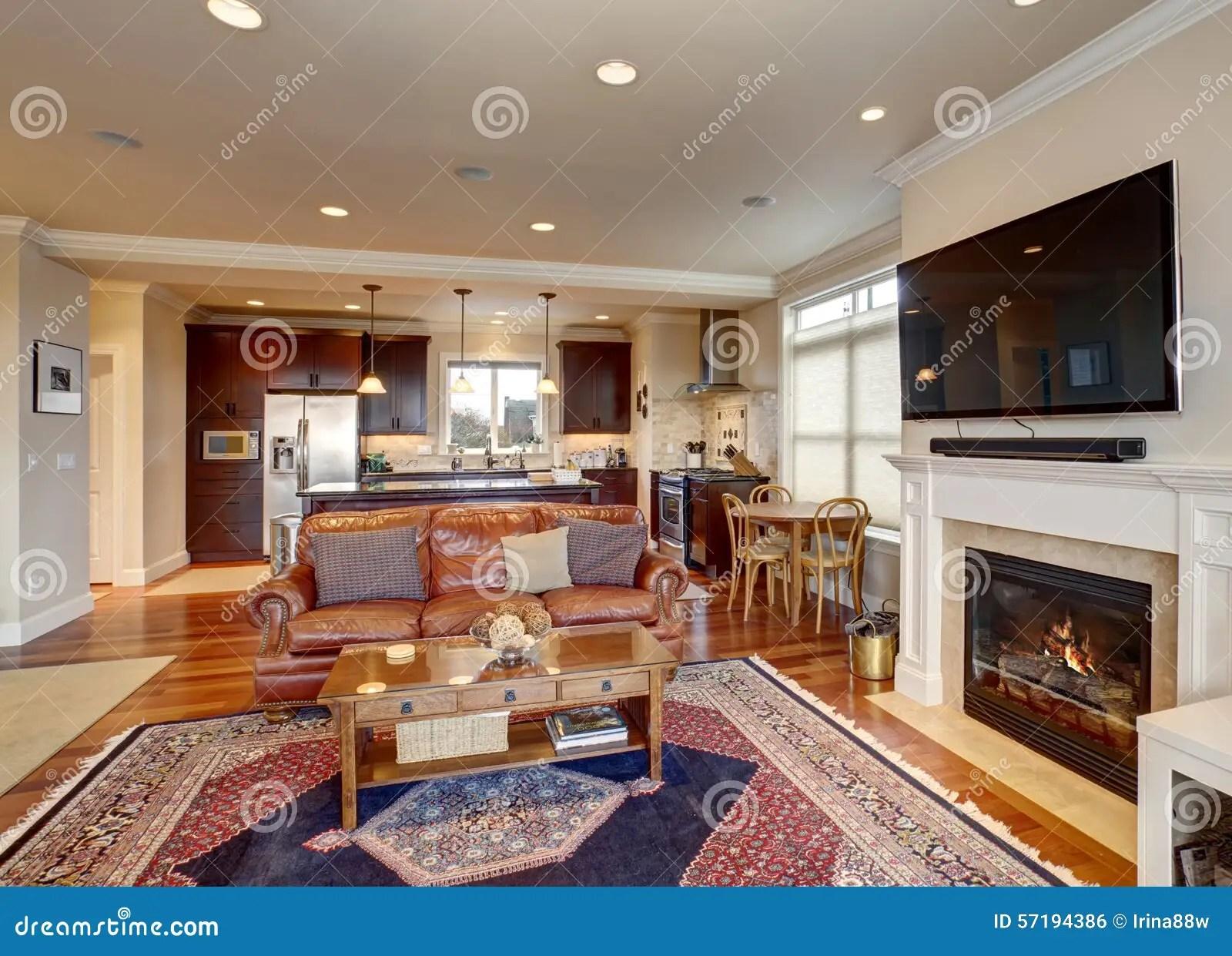 blue kitchen rugs sink bottom grid 有红色和蓝色地毯的豪华客厅库存照片 图片包括有长沙发 厨房 实际 有皮革长沙发的豪华客厅和壁炉