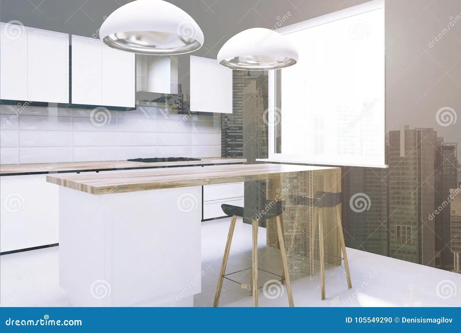 kitchen bar lights vinyl flooring 有酒吧的白色瓦片厨房 支持定调子库存例证 插画包括有楼层 空间 回报 支持定调子