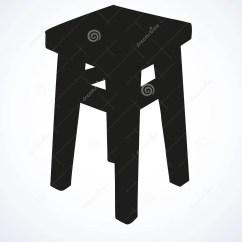Kitchen Stool Table And Chairs Ikea 木厨房凳子传染媒介剪影向量例证 插画包括有户内 杂文 板刻 例证 变老用餐在白色背景的barstool 黑暗的墨水手拉的图片概略在纸的艺术农村样式笔与空间的看法特写镜头文本的