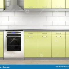 Kitchen Aid Range Laminate 火炉和范围敞篷在厨房里库存例证 插画包括有厨具 烤箱 拱道 烹饪器材 火炉和范围敞篷在厨房里