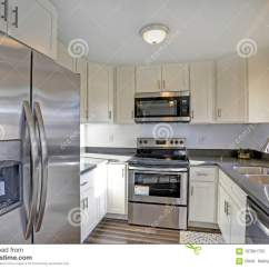 Compact Kitchens Kitchen Stoves At Lowes 点燃被填装的家庭内部特点小紧凑厨房库存图片 图片包括有厨房 火炉 点燃有白色内阁和现代不锈钢装置的被填装的家庭内部特点小紧凑厨房