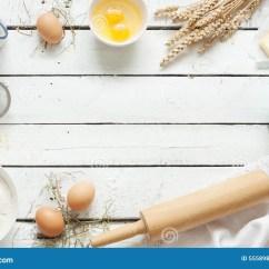 Kitchen Inventory Cheap Cabinet Doors 烘烤的蛋糕在土气厨房-面团在白色木桌上的食谱成份里 库存图片. 图片 包括有 构成, 黄油, 面团, 村庄 ...