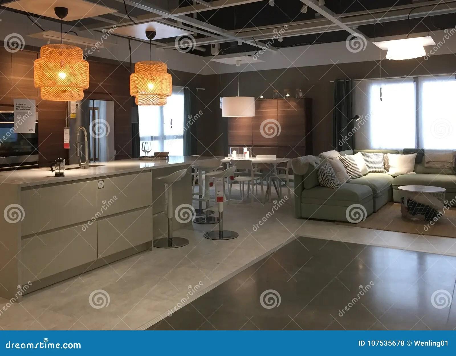 home and kitchen stores anaheim cabinets 现代厨房和家庭娱乐室在商店宜家设计编辑类库存照片 图片包括有家庭 现代厨房和dinning的家庭娱乐室家具待售在商店宜家 tx美国