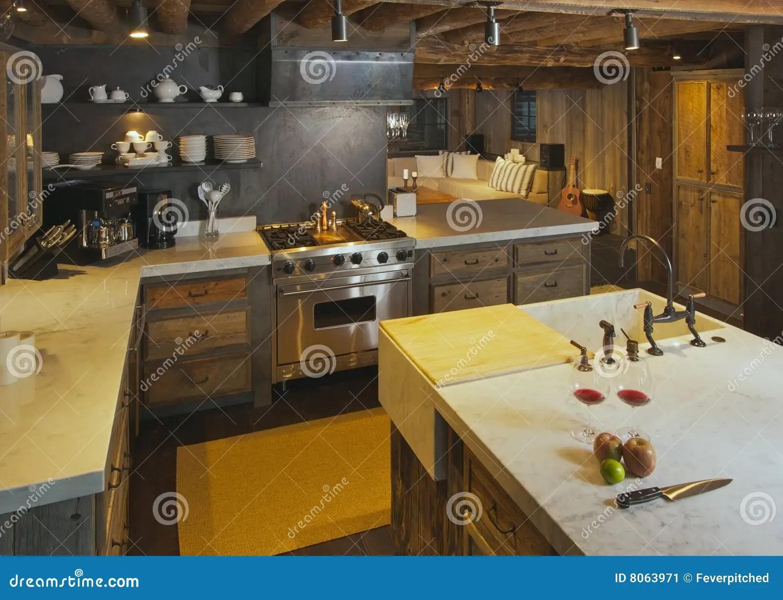 in stock kitchens kitchen banquette seating 现代客舱的厨房库存图片 图片包括有烹调 实际 灌肠器 厨师 宽敞 客舱充分地被装备的厨房日志豪华土气