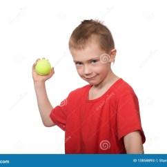 Kitchen Caddy Hats For Staff 球童一点网球库存图片 图片包括有喜悦 孩子 情感 学龄前儿童 快乐 球童一点网球