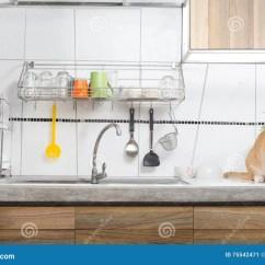 Blanco Kitchen Sink Oakley 白色厨房水槽内部库存图片 图片包括有模式 房子 装饰 发光 背包 白色厨房水槽内部