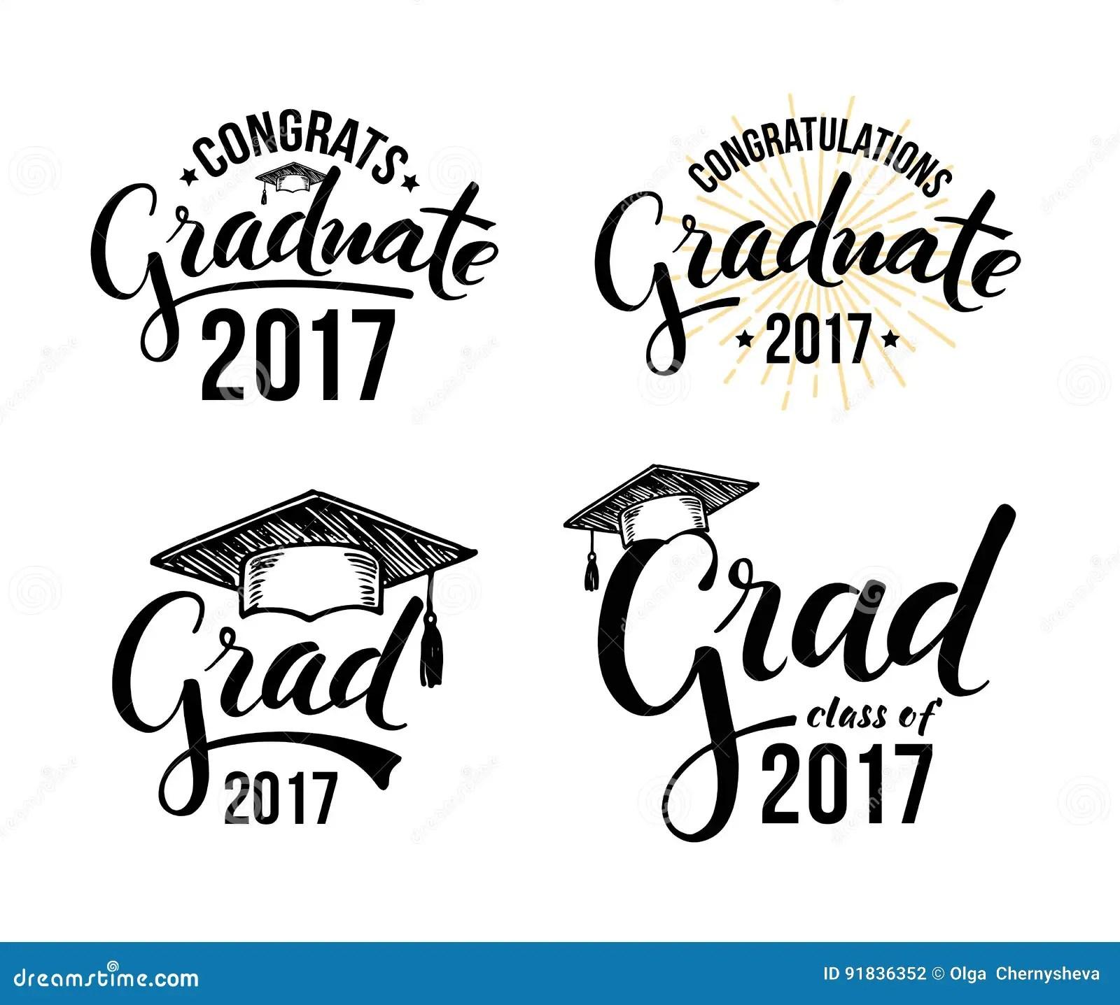 祝贺毕业生2017年 向量例证. 插画 包括有 毕业生, 要素, 查出, 荣誉称号, 说明, congrats