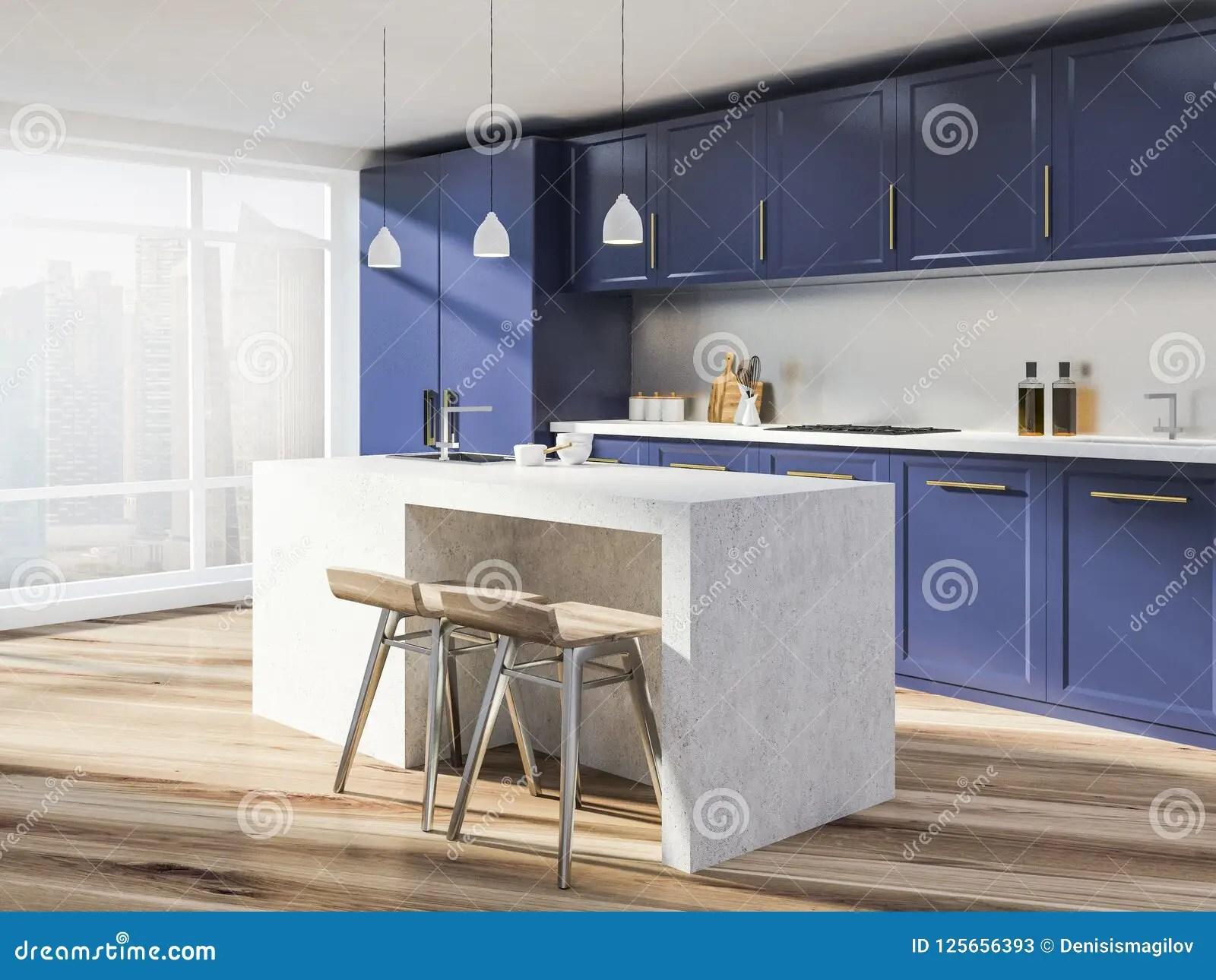 corner hutch kitchen updated ideas 紫色工作台面厨房角落 酒吧库存例证 插画包括有消耗大 房子 属性 与白色墙壁的全景厨房内部 木地板 紫色工作台面和碗柜和一个石海岛有凳子的3d翻译拷贝空间