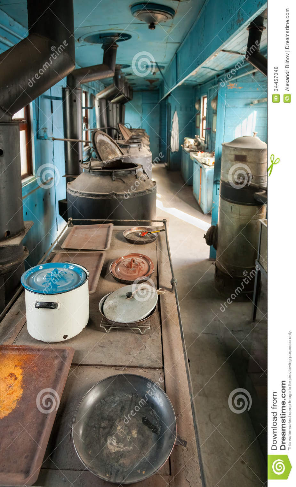 kitchen prep cart sliding baskets 老铁货车厨房库存照片 图片包括有平底锅 厨房 铁路 火炉 通信工具 老铁货车厨房