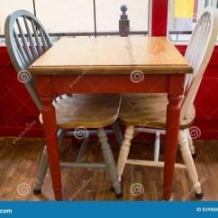 Wood Kitchen Chairs 2x3 Rug 葡萄酒木厨房椅子和桌库存图片 图片包括有backarrow 反气旋 工艺 葡萄酒木厨房椅子和桌