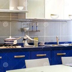 Blue Kitchen Chairs Ninja 蓝色厨房垂直库存照片 图片包括有拱道 椅子 现代 新闻 架子 内部 蓝色厨房垂直