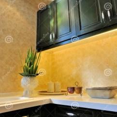 Decorating Kitchen Corner Cabinets 装饰厨房装饰品库存图片 图片包括有功能 豪华 杯子 装饰品 装饰 美丽方便的功能家具房子厨房寿命装饰餐位餐具显示的空间样式