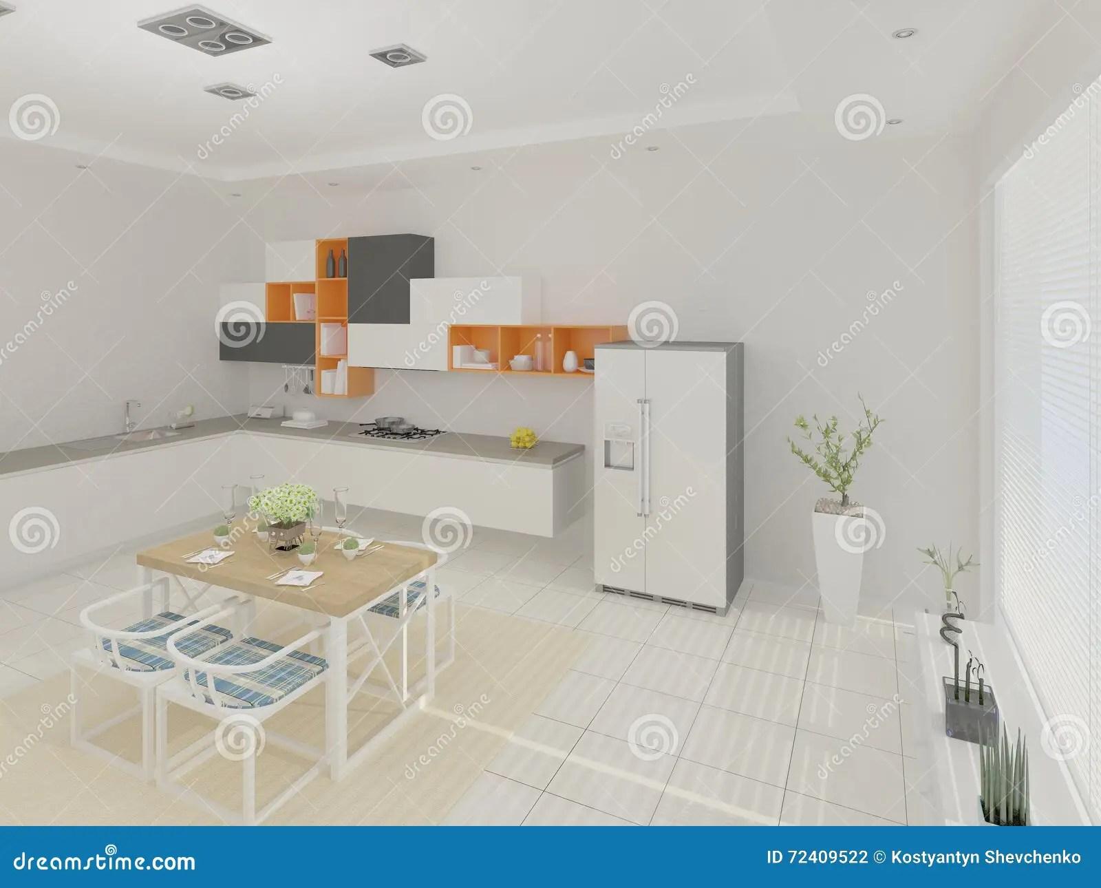 redesigning a kitchen soup volunteer denver 设计一个宽敞厨房图库摄影片 插画包括有椅子 橙色 内部 系列 空间 设计一个宽敞厨房