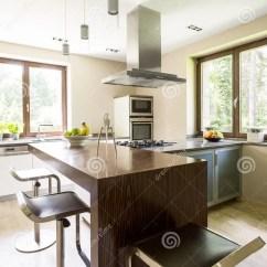 Kitchen Aid Ovens Decorative Signs 设计师辅助部件在一个现代厨房里库存图片 图片包括有烤箱 房檐 框架 设计师辅助部件在一个现代厨房里
