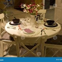 Kitchen Table Storage Corner Sink Ideas 餐桌集合家具店库存图片 图片包括有beautifuler 椅子 存储 装饰 餐桌集合家具店