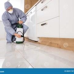 Kitchen Side Sprayer Best Appliances Reviews 驱除剂喷洒的杀虫剂在厨房里库存图片 图片包括有杀虫药 楼层 手工 工作服喷洒的杀虫剂的驱除剂与喷雾器