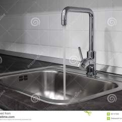 Kitchen Sink Materials Grey Countertops 龙头和水槽在厨房里库存图片 图片包括有设计 材料 户内 干净 国内 一个搅拌器和水槽用水在一个现代厨房里
