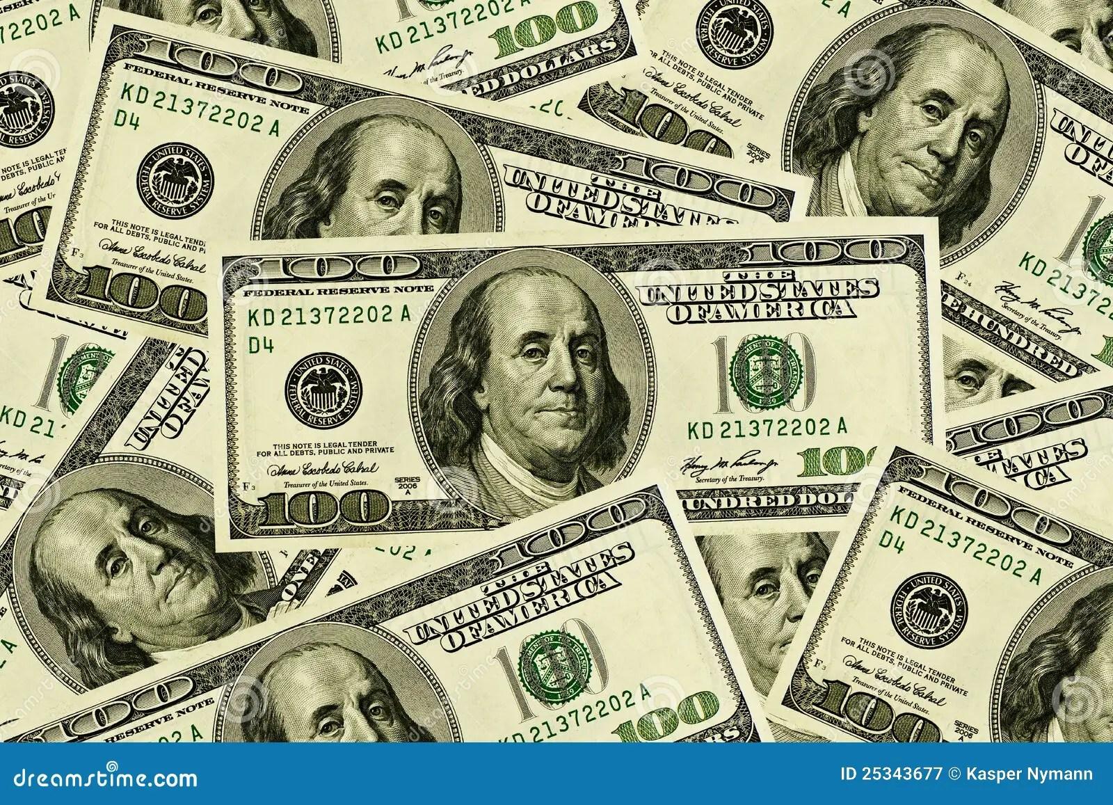 100 Billets D Un Dollar Image Stock Image Du Finances