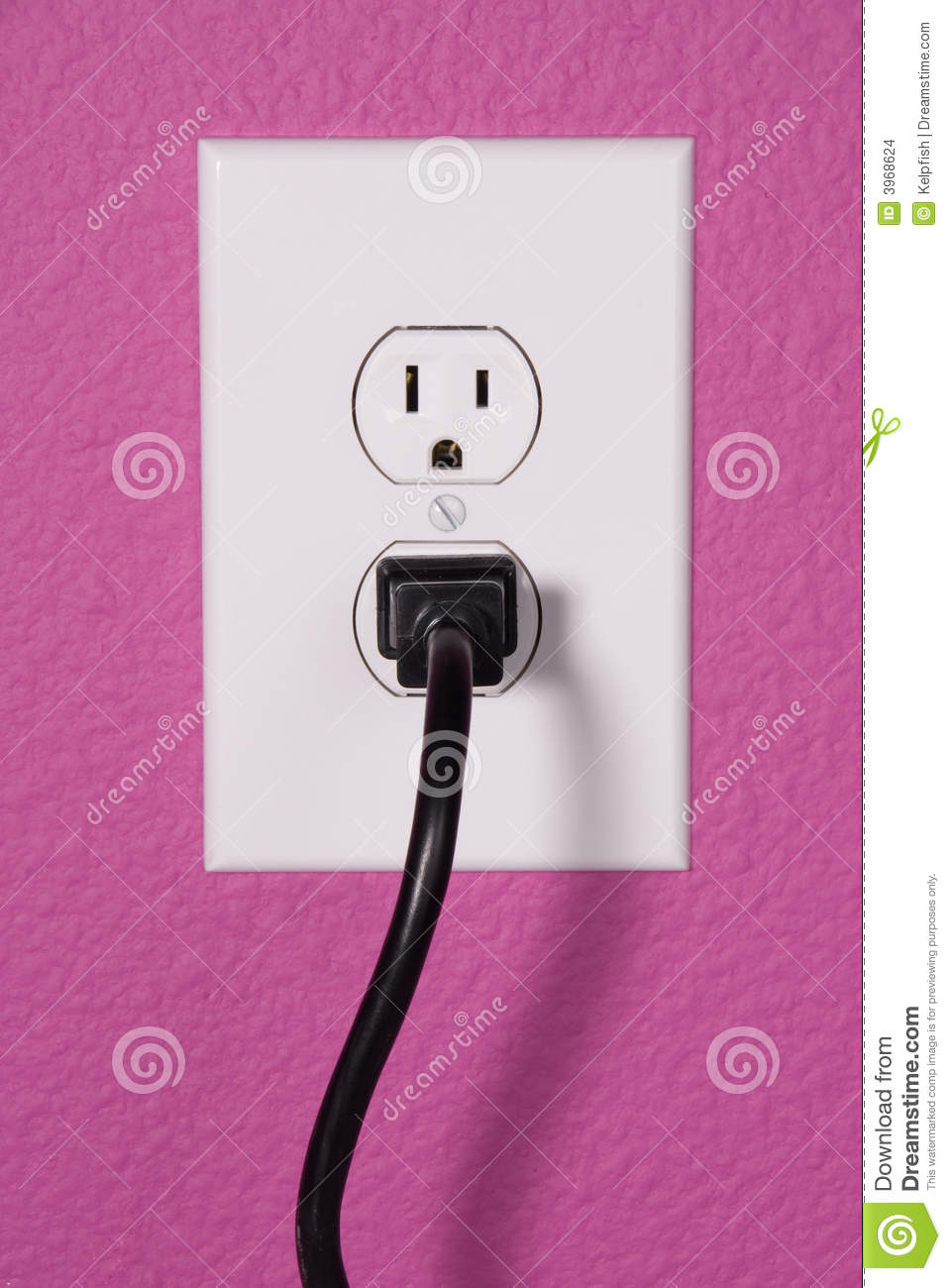 hight resolution of a clean image of a 110 volt wall power outlet against a freshly painted wall perfect image for any abstract energy promotion use or to make inferences for