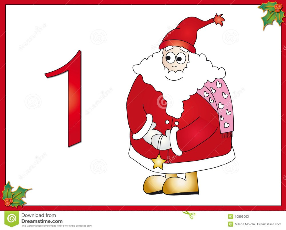 medium resolution of 12 days of christmas 1 santa claus