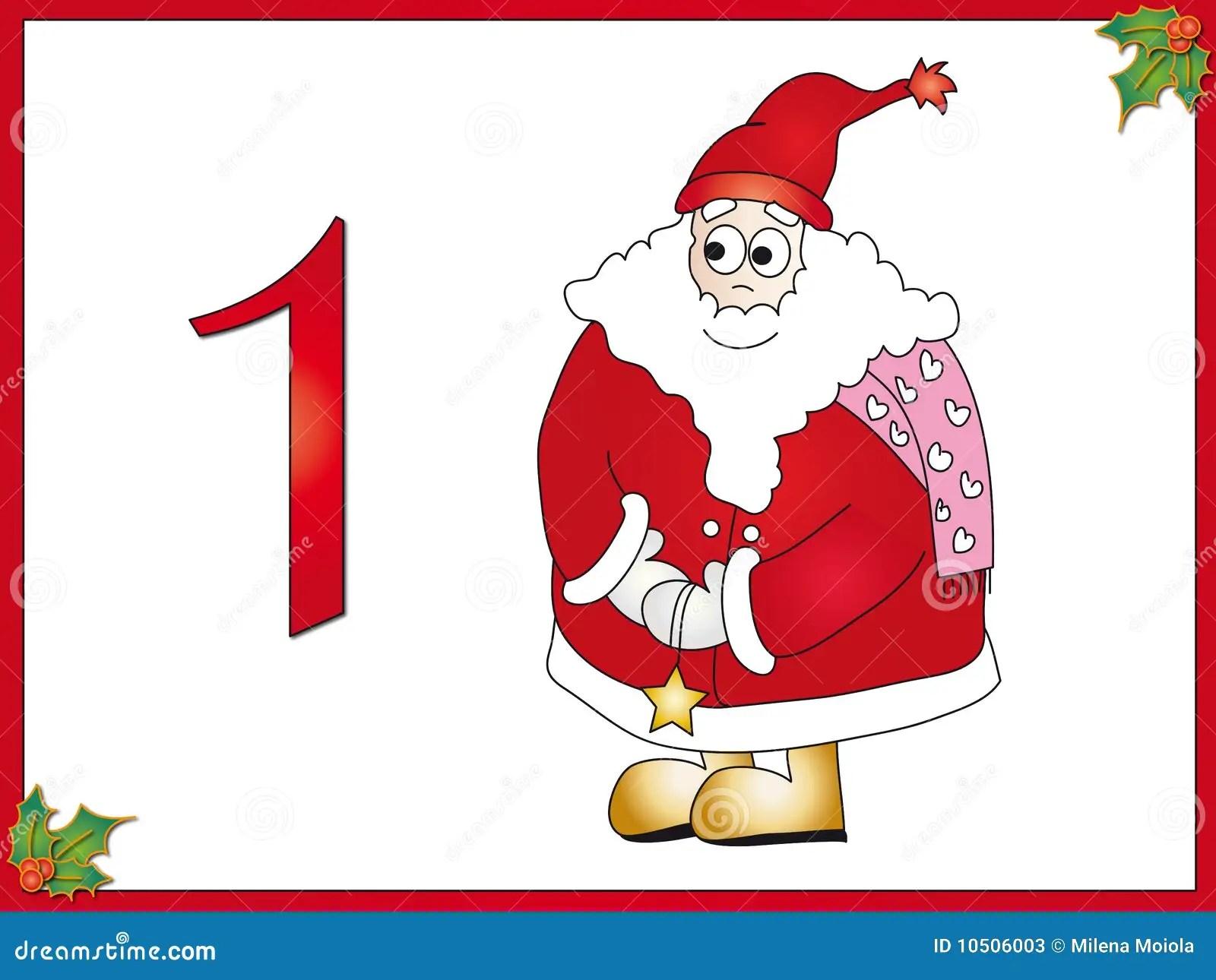 hight resolution of 12 days of christmas 1 santa claus