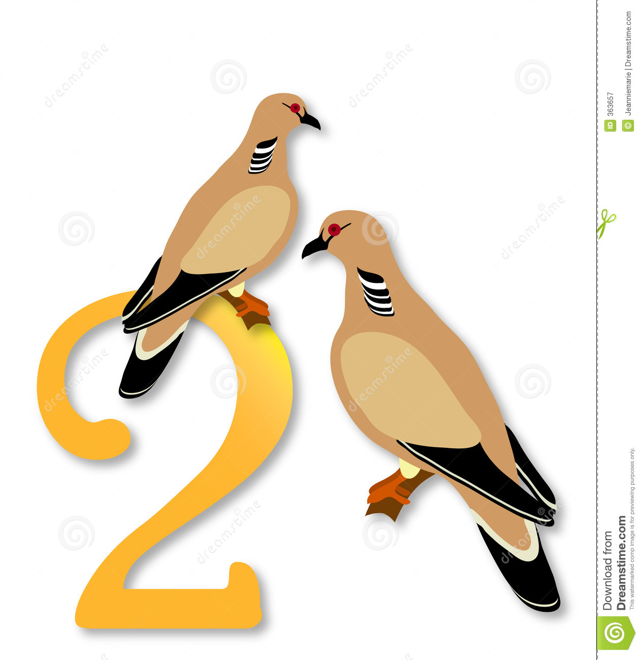 hight resolution of 12 days of christmas 2 turtle doves