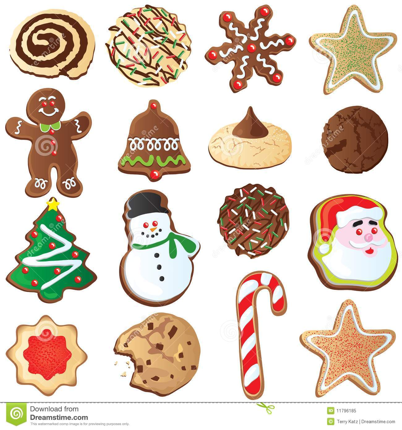 hight resolution of 12 days of cute christmas cookies