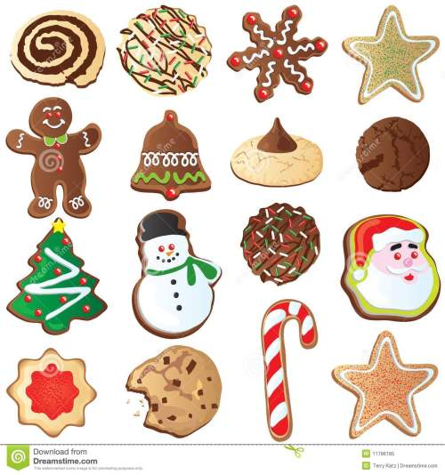 small resolution of 12 days of cute christmas cookies