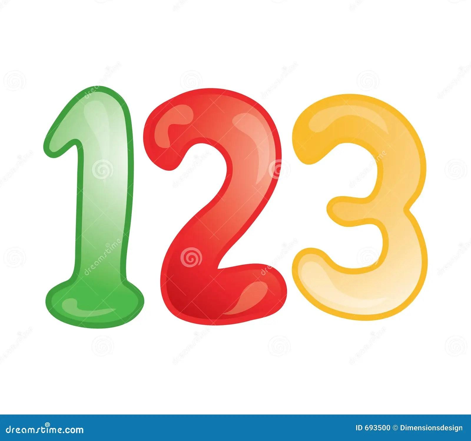 123 Icon Stock Vector Illustration Of Count School