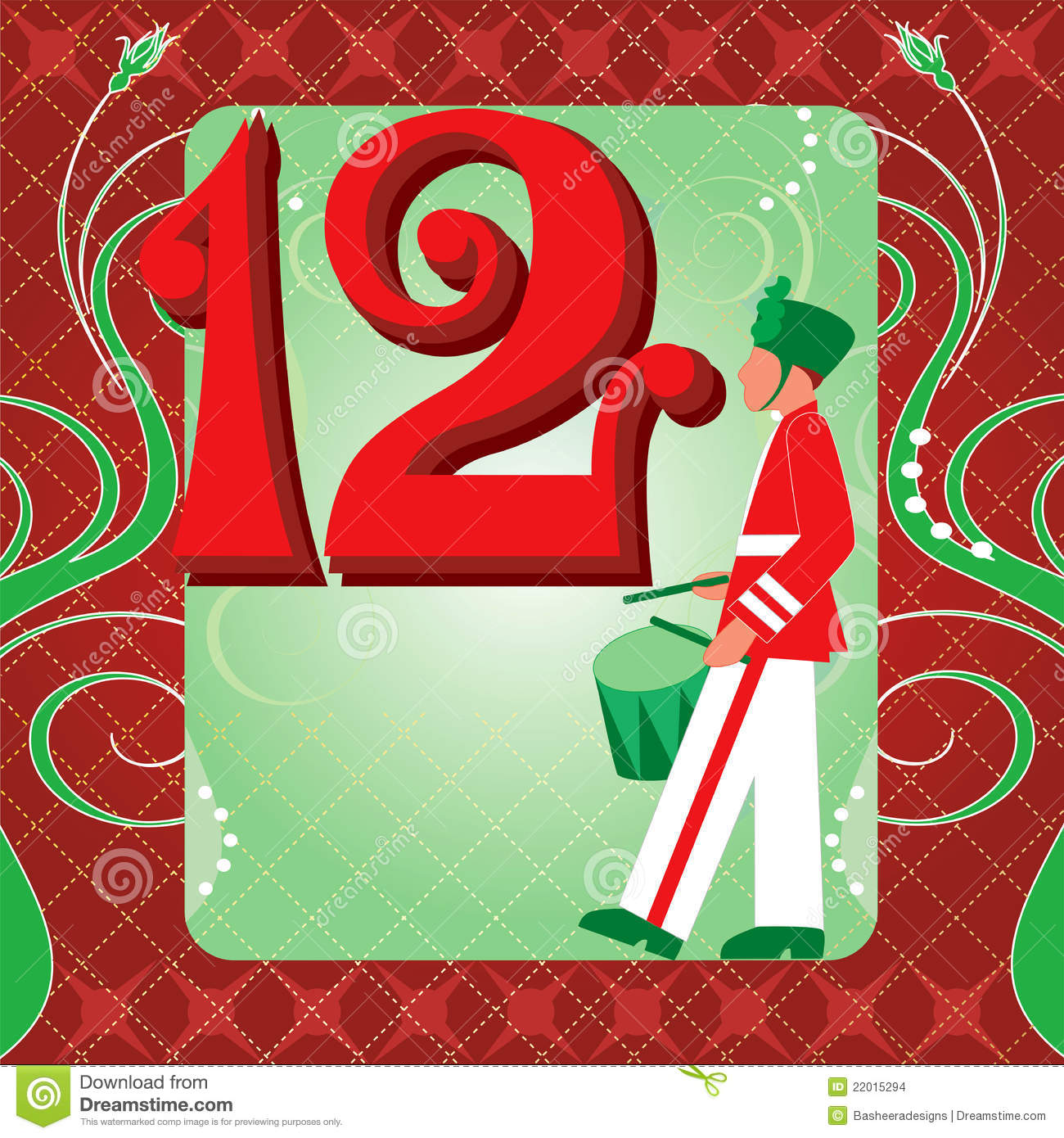 hight resolution of 12th day of christmas