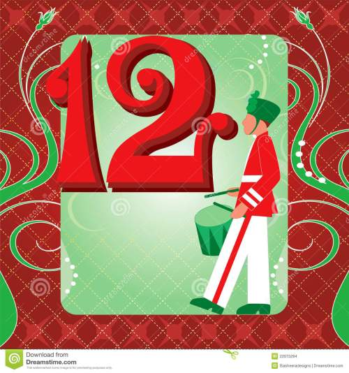 small resolution of 12th day of christmas