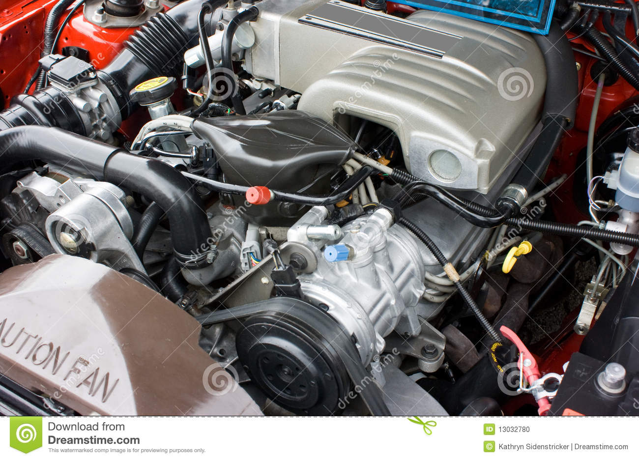 2003 Grand Marquis Wiring Diagram 1993 Ford Mustang 5 0 V8 Engine Stock Photo Image 13032780
