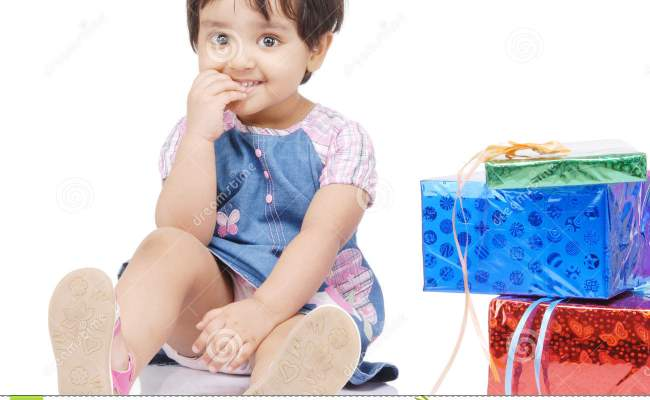 2 3 Years Old Baby Girl Stock Photo Image Of Indoor